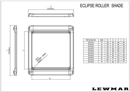 Lewmar - Lewmar rullegardin til dæksluger