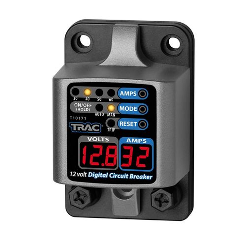Trac - Huvudsäkring Trac, Digital med display, 30-60 Amp