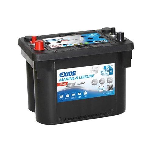 Exide/tudor - Exide Marine startbatteri AGM