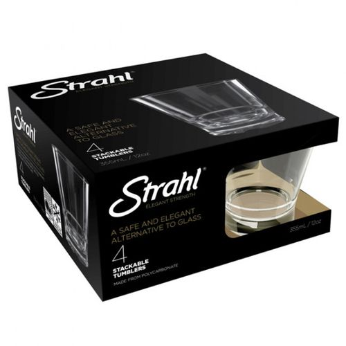 STRAHL - Whiskeyglas Strahl 4 stk