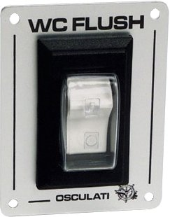 Osculati - Spyleknapp til el-toalett