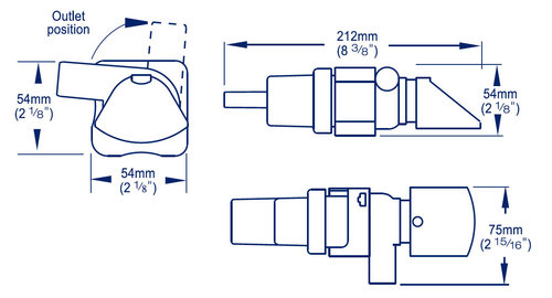 Whale - Whale Supersub - länspump med nivåvakt och backventil