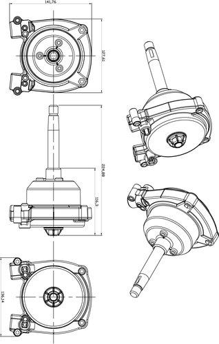 Pretech - Styrväxel ZTS 3000