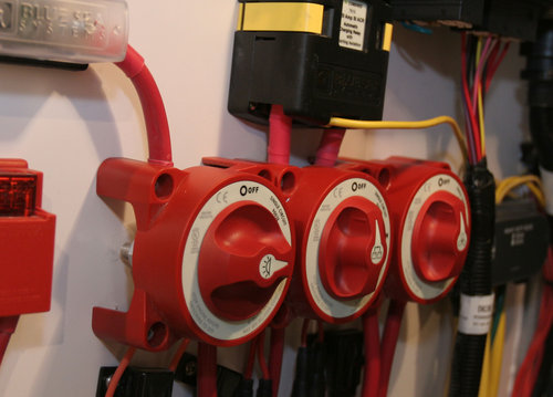 Blue Sea System - Hovedstrømafbryder E-serien
