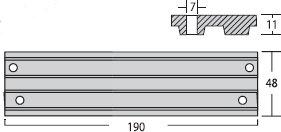 Nautical Anodes Rakicevic - M/M Trim plate