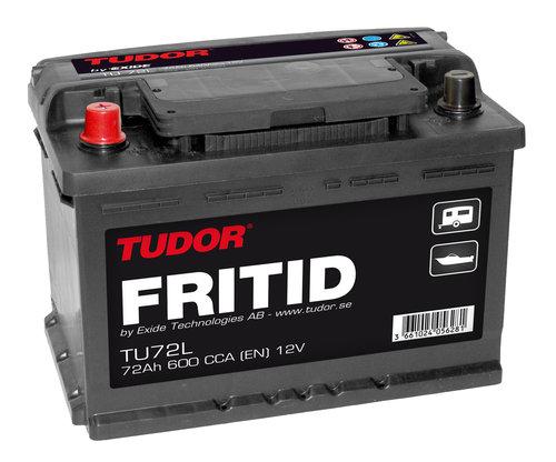 Exide/Tudor - Tudor Fritid 72 Ah