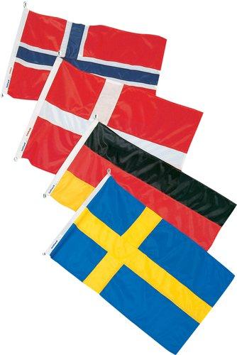 - Gästflaggor, regionspack 4 st/förp