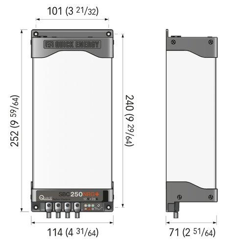 Quick - Batterilader Quick SBC 250 NRG+12V/25A