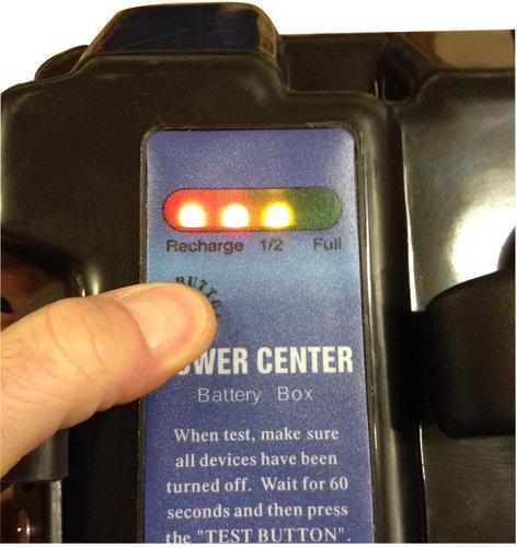 - Batterikasse til EL-motor, 30 & 50A
