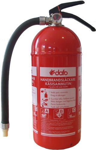 - Glorex brandslukker 2 kg