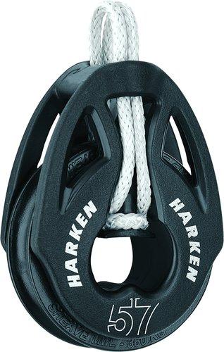 Harken - Enkeltblok m. Loop, T2 57 mm
