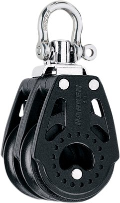 Harken - Dobbeltblok, Carbo Air 40mm