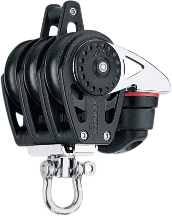 Harken - Harken trippelblok, Carbo Air 40 mm.