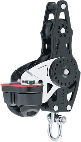 Harken - Violinblok hundsvot CamCleat, Carbo Air 40mm.