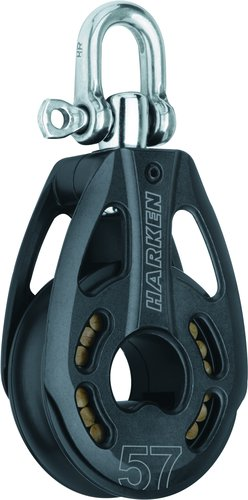 Harken - Enkelblock 57 mm, HL