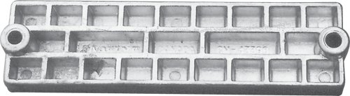 Martyr - Mercury Mariner Zink anode waffle bar
