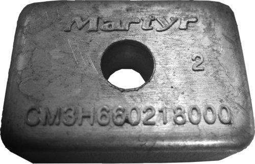 Martyr - M/M Zink anode 4-9,9 HK påhængsmotor