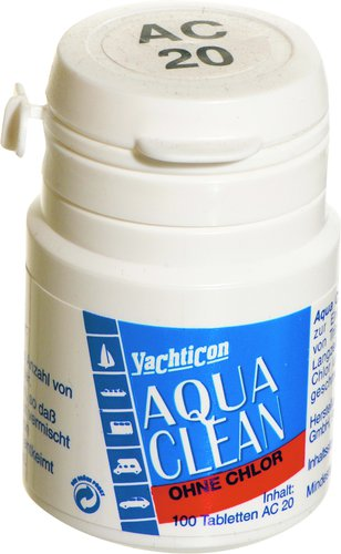 Yachticon - Vattenreningstabletter Aqua Clean
