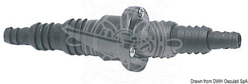 Osculati - Backventil med slanganslutningar