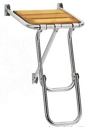 Osculati - Badplattform mini med vikbar stege