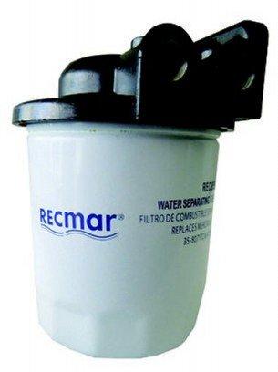 Recmar - Vattenavskiljande filter med hållare