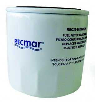 Recmar - Brændstof/vandseparationsfilter