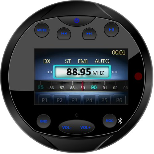 Gussi - Radio FM 4x40W