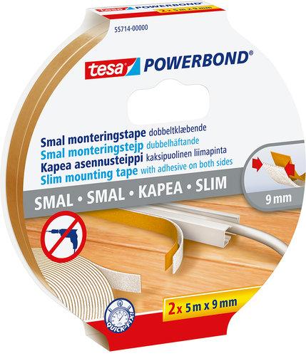 TESA - Monteringstejp Powerbond SLIM 9mm