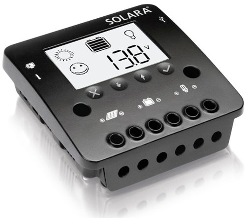 Solara - Laddningsregulator med display