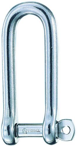 Wichard - Schackel lång med säkrad riggbult