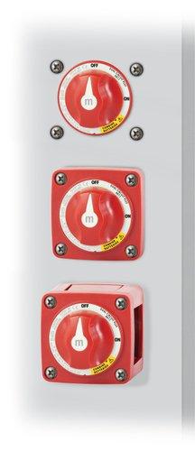 Blue Sea System - Hovedstrømafbryder Mini Dual 300A Rød