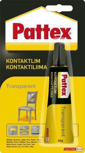 Pattex - Transparent Kontaktlim