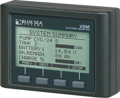 Blue Sea System - Systemovervågning