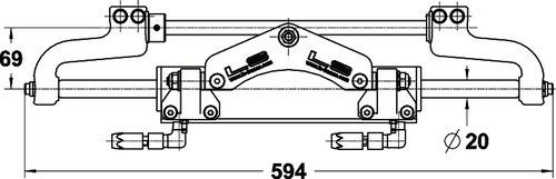 Lecomble & Schmitt - Hydraulstyrning LS350  PRO/30