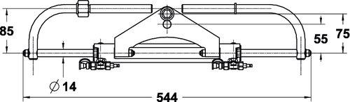 Lecomble & Schmitt - Hydraulisk styring LS175 PRO
