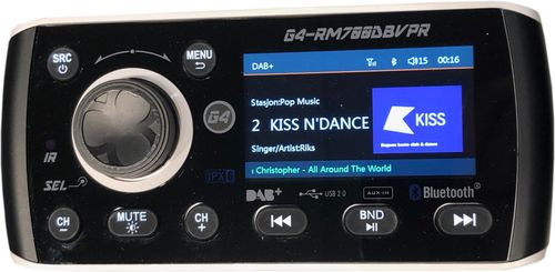 - Radio 1 Din DAB/FM, Video in/ut, USB mm.