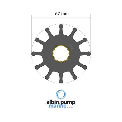 Albin Pump Marine - Impeller Albin pump 06-01-012