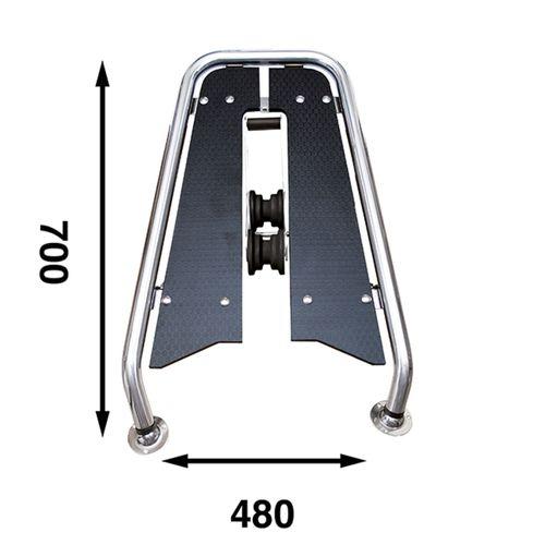 Båtsystem - Motorbåtspeke MPA75BL
