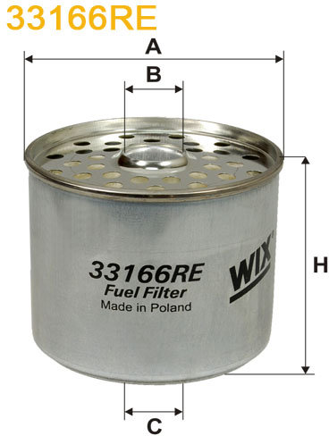 WIX Filtration - WIX brændstoffilter 33166RE