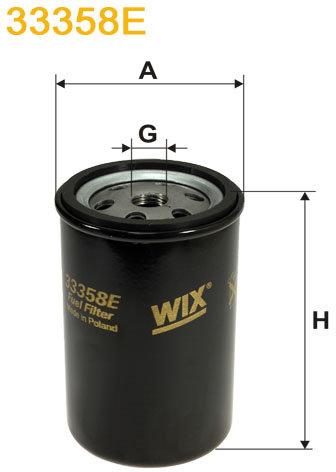WIX Filtration - Bränslefilter 33358E