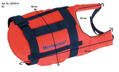 Marinepool - Redningsvest / flytevest til hund
