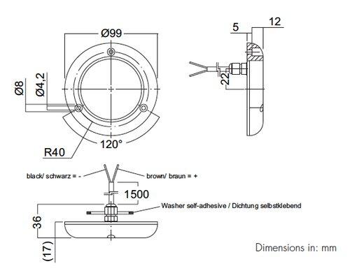 Aqua Signal - Undervattensbelysning Dione