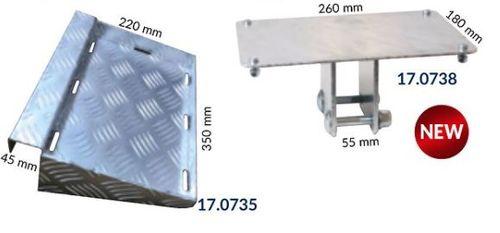 1852 Marine Quality - Batteriboxhållare till trailer