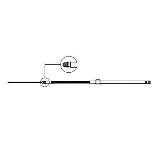 Ultraflex - Styrekabel M58 Ultraflex