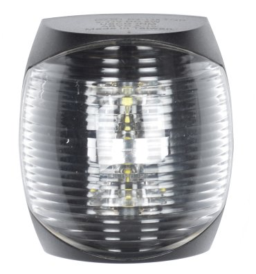 - Akterlanterna LED svart hus 2NM Sidmontering