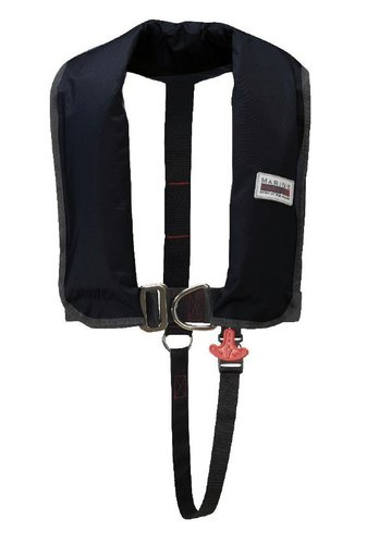 Marinepool - Oppustelig redningsvest, ISO Classic 150N, sele