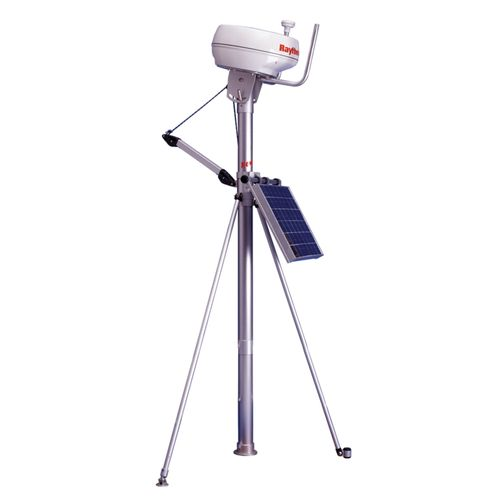 Båtsystem - Radarmastkit med radar-och antennfäste, kran samt solcellsfäste