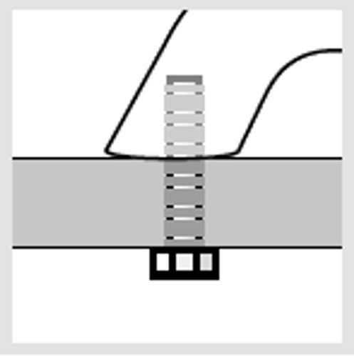 Båtsystem - Grabbräcke GRB inv bult
