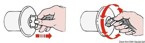 Osculati - Däcksförskruvning