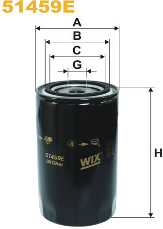 WIX Filtration - Oliefilter 51459E